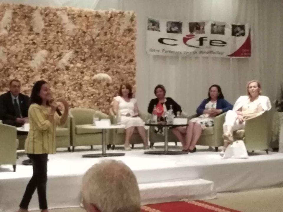 ABIR JLASSI SDIRI PRESIDENTE CIFE BEN AROUS TUNISIE - Conférence Les Nouveaux Métiers du Digital BIZERTE