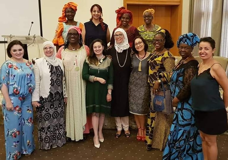 African Women Meet Up - Conseil International des Femmes Entrepreneurs Tunisie - Abir Jlassi Sdiri Présidente CIFE Ben Arous